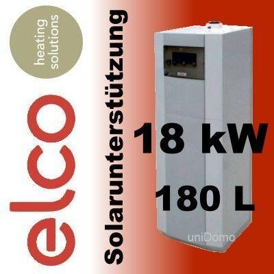 Centrala condensare Elco boiler incorporat panouri solare 18 kw noua