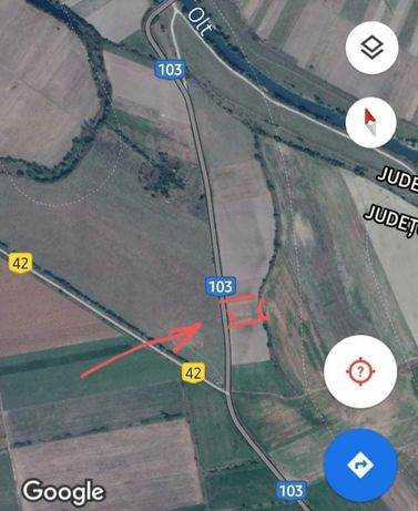 Teren 5000m² in Bod, jud. Brasov, front la sosea