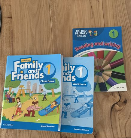 Комплект Family&friends для 1 класса