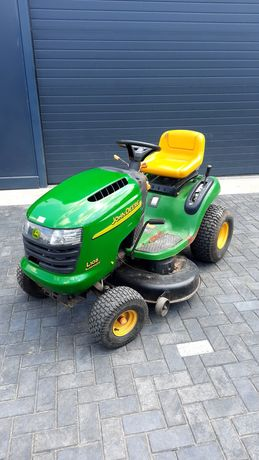 Tractoras John Deere Gazon tuns gradina cosit iarba tractor livada