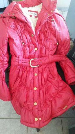 зимно червено яке голямото намаление 50