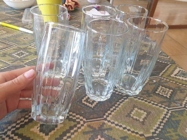 Высокие стаканы 8 шт