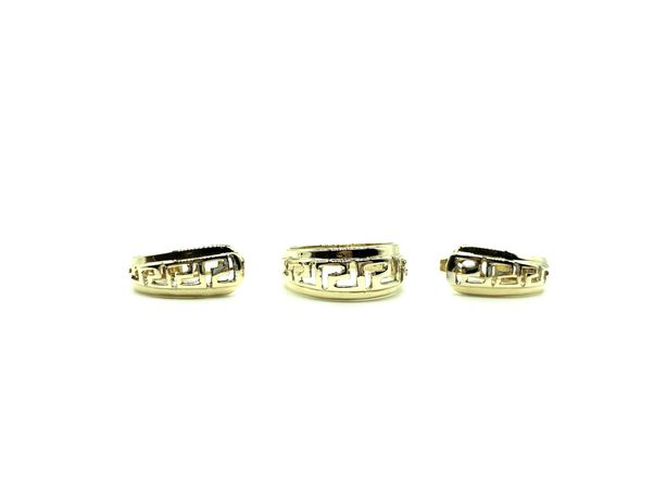Комплект Кольцо с камнем и серьги с камнем, золото 585 (14K)