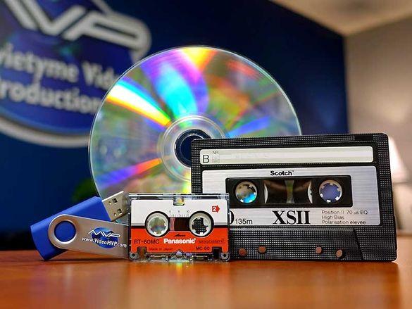 Прехвърляне на аудио касети на USB флашкa, CD