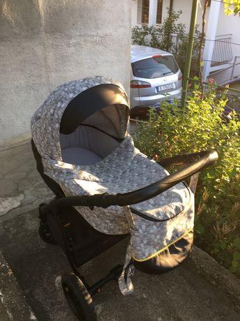 Бебешка количка 2 в 1 Go Grow Play+подарък столче за хранене Chipolino