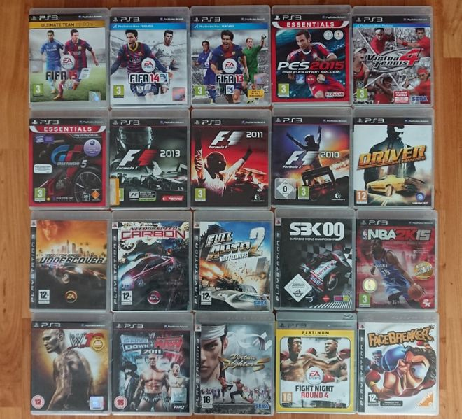 < PS3 Sport > FIFA Gran Turismo NFS Snooker PS Move PlayStation 3 гр. Казанлък - image 1