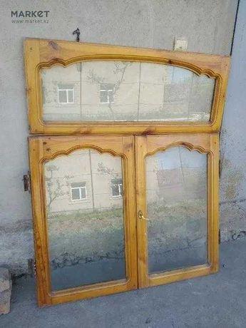 Оконный переплет без косяка с окнами