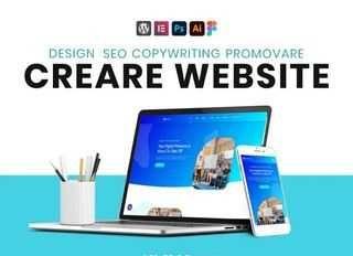 Creare siteuri web / Website de prezentare / magazin online Seo