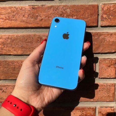 В РАССРОЧКУ Apple iPhone XR 128GB Blue синий цвет