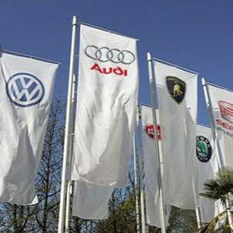 Изработка на рекламни знамена и материали