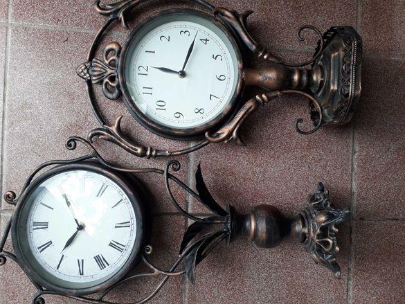 Часовници ,метал,настолни ,ретро