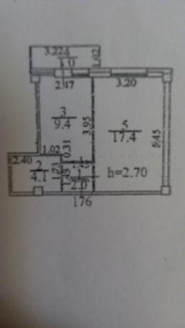 Срочно продам 1 комнатную  квартиру