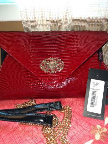 Чанта Аксел с етикет