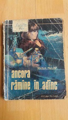 Vând roman Ancora rămâne in adânc