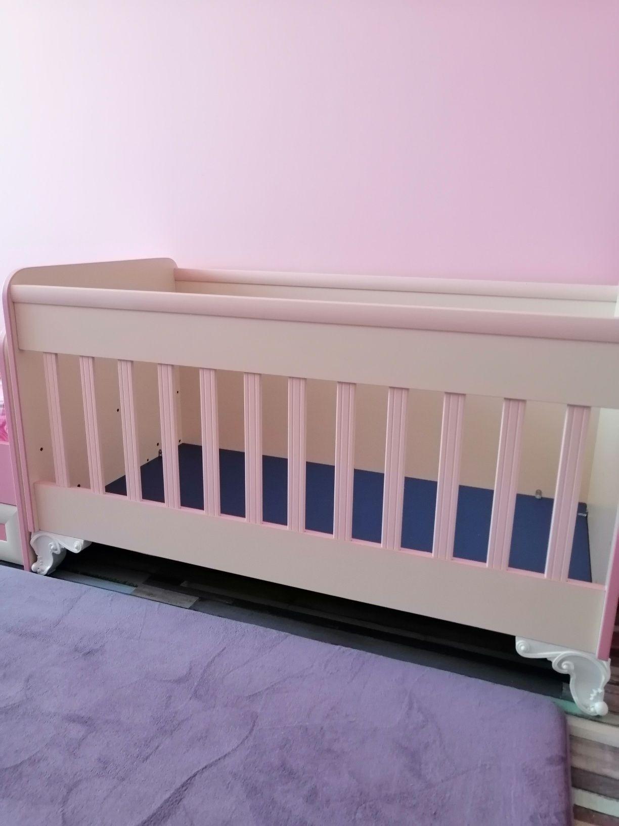 Детско легло за момиченце