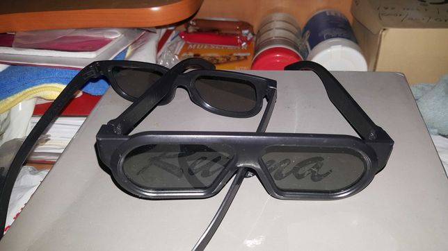 Ochelari 3D negri MasterImage noi
