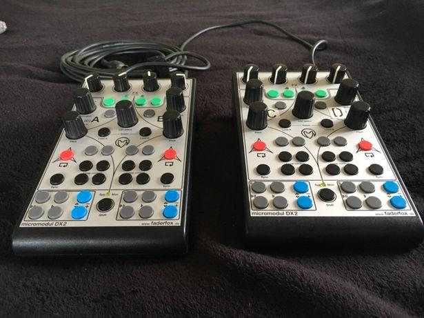 2 buc Faderfox Micromodul MiDI controller