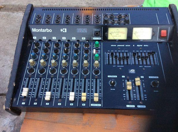 Statie de voci Montarbo  cu boxe si camera reverb electronic incorpora