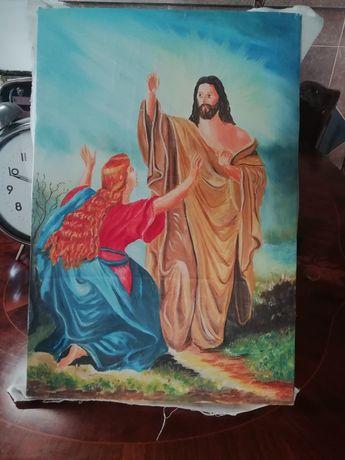 Vând tablou scena biblica