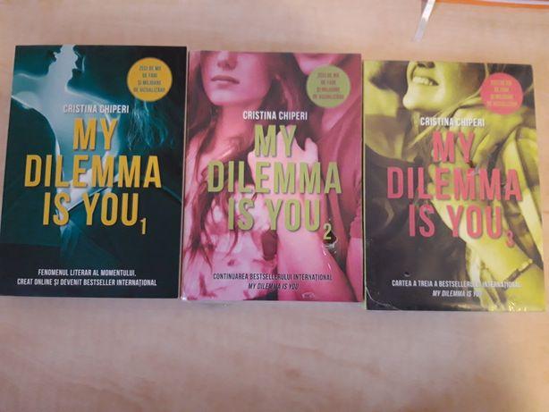 My dilemma is you - Vol 1+2+3 - Cristina Chiperi