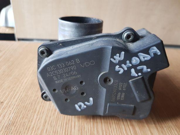 Clapetă de accelerație Skoda Volkswagen motor 1.2 benzina 12 valve
