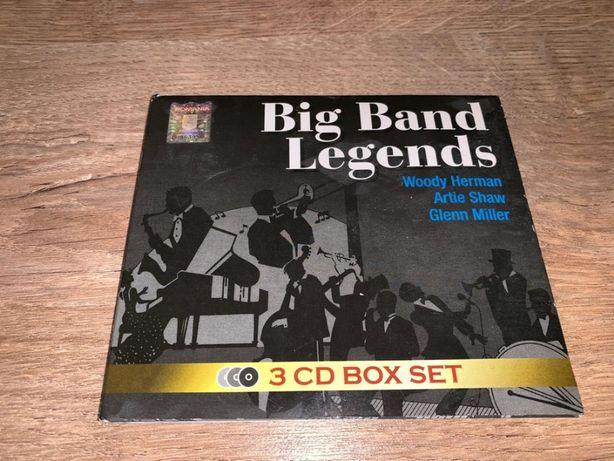 CD Big Band Legends - Woodie Herman, Artie Shaw, Glenn Miller