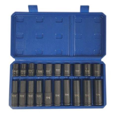 Trusa Set 20 Tubulare pt Pistol Impact 1/2 10-19mm TransportGratuit