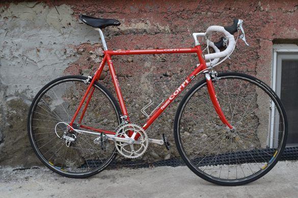 Ретро Шосеен Велосипед Fausto Coppi, 90те години, DuraAce 7400
