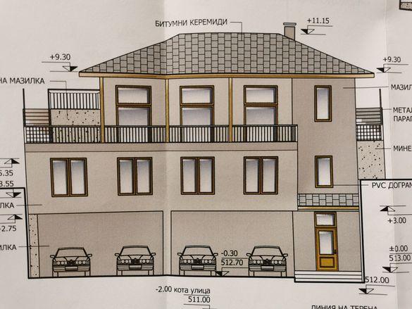 Парцел + проект на къща за гости тип вилно селище