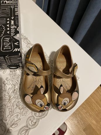 Mini melissa обувь новые Bambi