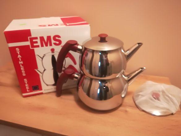 Сервиз за запарване на турски чай