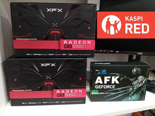 Видеокарты RX550 4GB/ GTX1050Ti/ GTX1070Ti/ GT710/ GT610