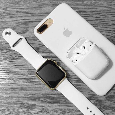  Apple Watch 6 Series LUX Premium Смарт Часы, Watch 5, AirPods 2 pro