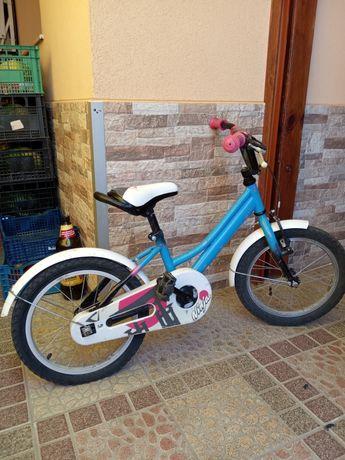 Детско колело 16 с помощни колела