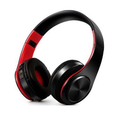 Слушалки безжични bluetooth HIFI FM и поддръжка SD карта с микрофон