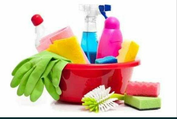 Почистване на домове, входове...