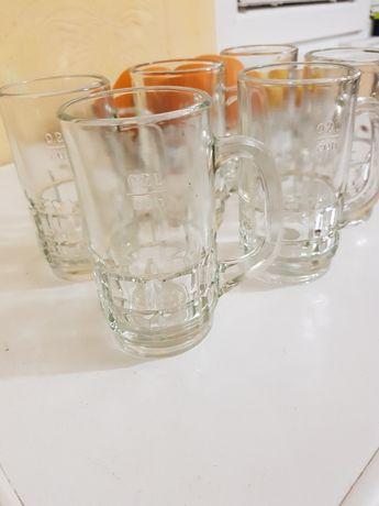 Продавам нови 6 броя чаши за бира