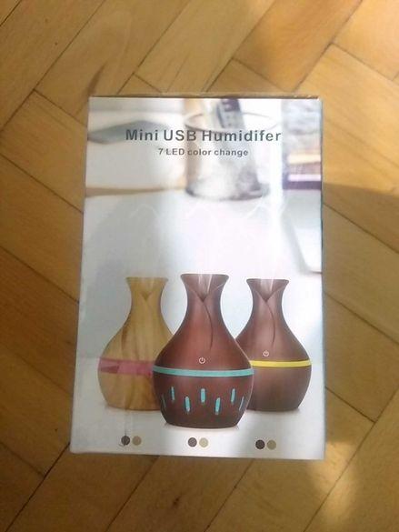 Арома дифузер- LED лампа USB