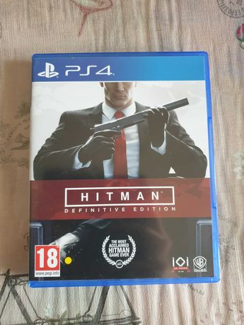 Hitman definitive edition, Watch Dogs Playsation Hits, Spider-man