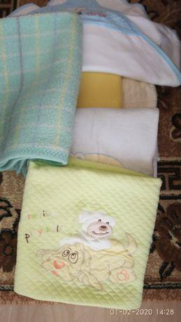 лот от бебешки пелени и одеалца