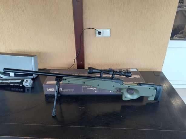 American Sniper Airsoft AWP/Pusca cu Luneta SUPER PUTERNICA 4,6j