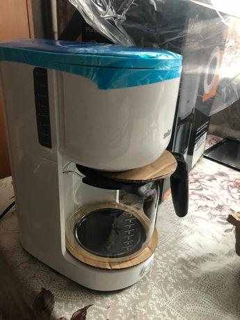 Новая кофеварка BRAUN