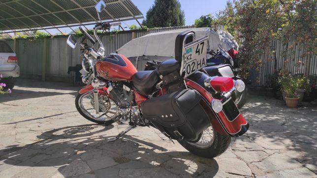 Продам мотоцикл, круизер Yamaha virago 250