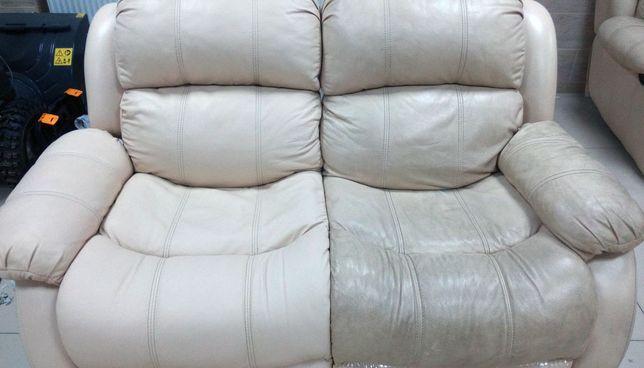 ЭКО Чистка кожаной (и кож зам) мягкой мебели, диван, матрас, стулья