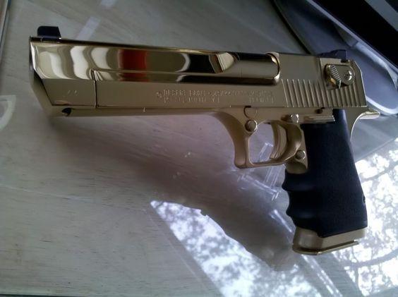 Cel mai PUTERNIC Pistol Airsoft Desert Eagle Ed.Lim GOLD# 4,4J# SUPER