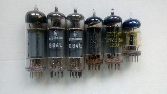Нови вакуумни електронни лампи