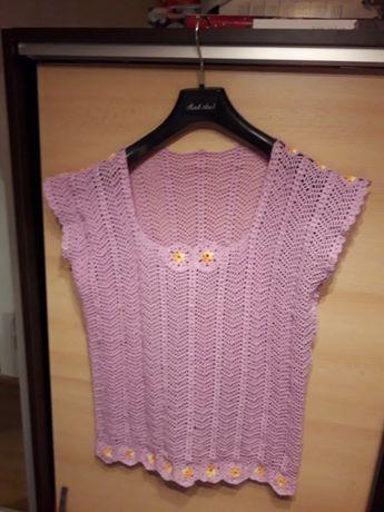 Bluza crosetata manual