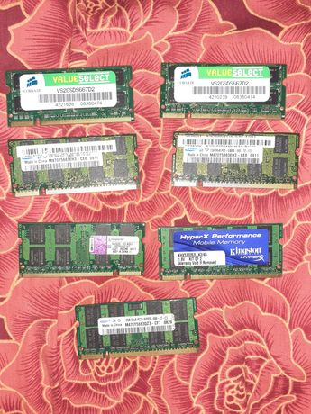 Ram ddr2 laptop 2 gb