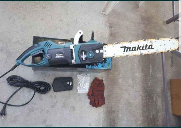 Акция! Професионална електрическа резачка за дърва Makita 2800W