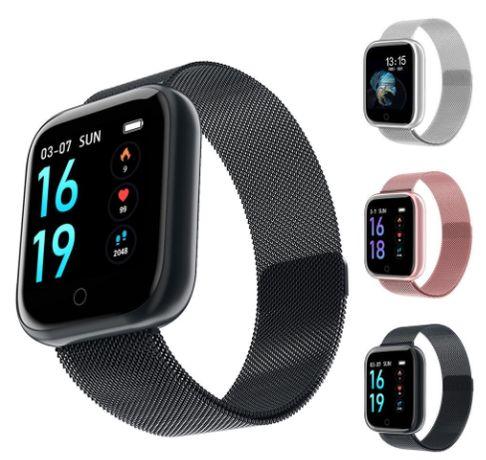 Часы smart watch Фитнес браслет, смарт часы Т80 с функцией пульсометра